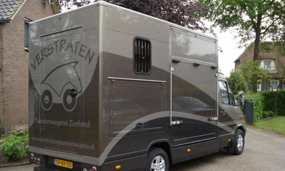 Mercedes 2-paards B-rijbewijs